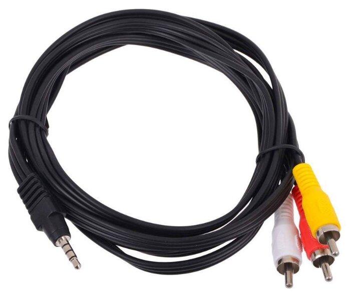 """Кабель-переходник Кабель-переходник аудио 3.5мм стерео->3xRCA Telecom """"TAV4545"""" . null."""