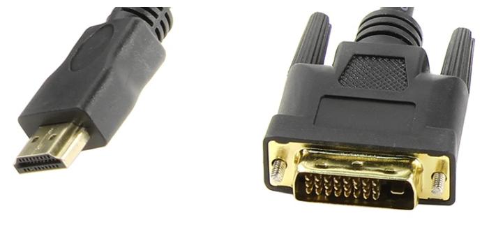 """Кабель-переходник DVI-D Dual Link<->HDMI TV-COM """"LCG135E"""""""