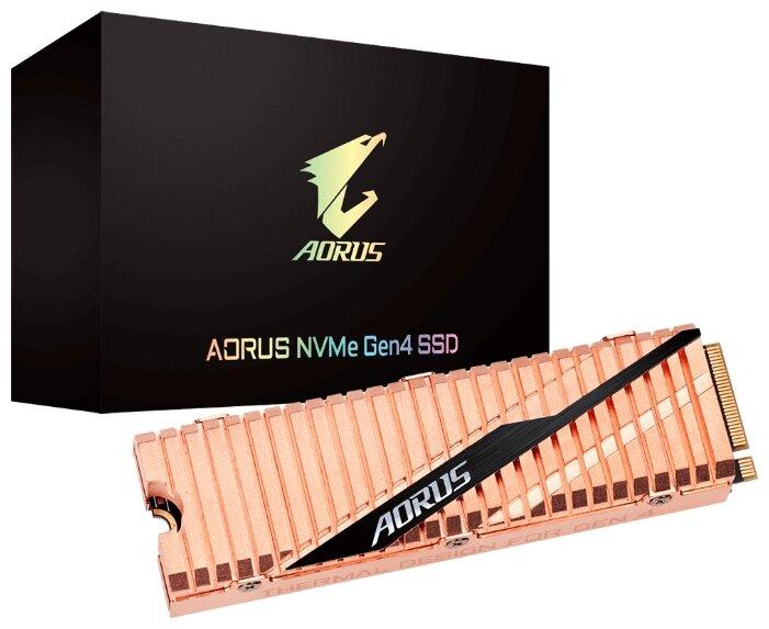 "SSD диск 1000ГБ M.2 GIGABYTE ""AORUS GP-ASM2NE6100TTTD"""