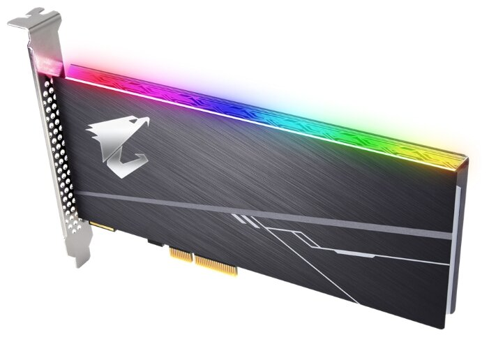 """SSD диск 1000ГБ GIGABYTE """"AORUS RGB AIC GP-ASACNE2100TTTDR"""""""
