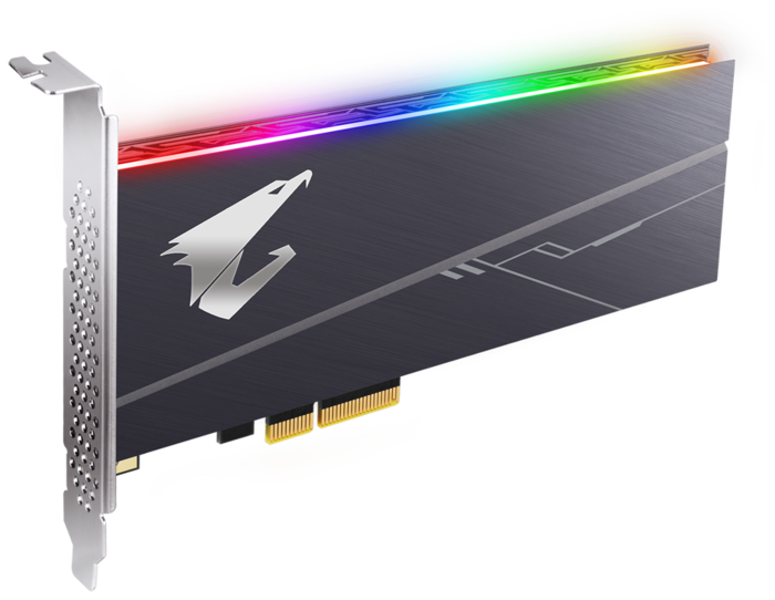 "SSD диск 512ГБ GIGABYTE ""AORUS RGB AIC GP-ASACNE2512GTTDR"""