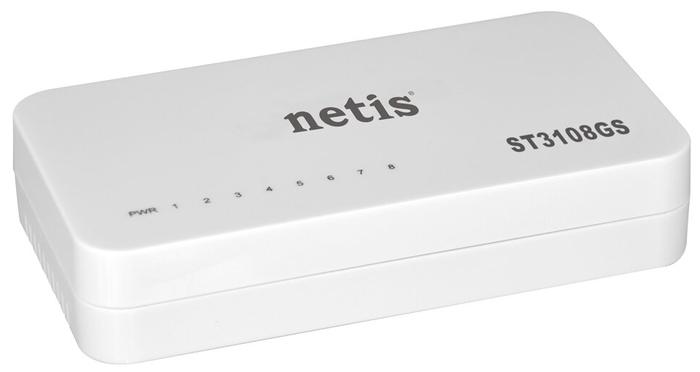 """Коммутатор Netis """"ST3108GS"""" 8 портов 1Гбит/сек."""