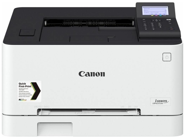 """Цветной лазерный принтер Canon """"i-SENSYS LBP623Cdw"""" A4, 600x600dpi, бело-черный"""