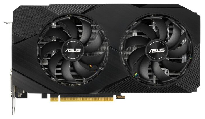 "Видеокарта ASUS ""GeForce GTX 1660 SUPER"" DUAL-GTX1660S-O6G-EVO"