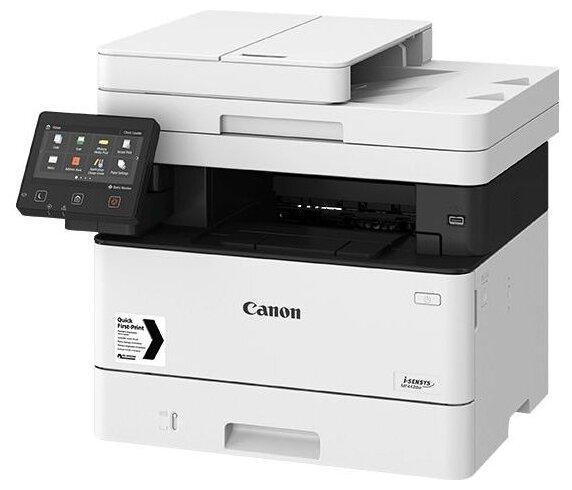 """Многофункциональное устройство Canon """"i-SENSYS MF443dw"""" A4, лазерный, принтер + сканер + копир, ЖК, белый"""