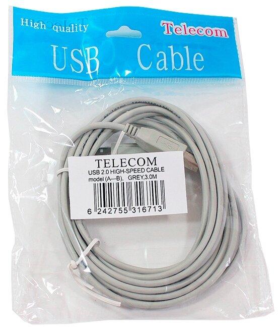 "Кабель USB2.0 A-B Telecom ""TC6900"" (3.0м)"