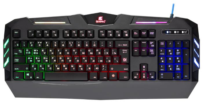 "Клавиатура Defender ""GK-120DL Werewolf"" (USB)"