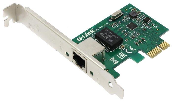 """Сет.карта Ethernet 1Гбит/сек. D-Link """"DGE-560T/C2A"""" (PCI-E x1)"""