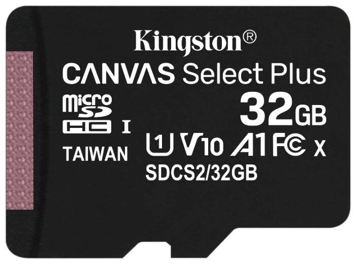 "Карта памяти 32ГБ Kingston ""SDCS2/32GBSP"" microSDHC UHS-I"