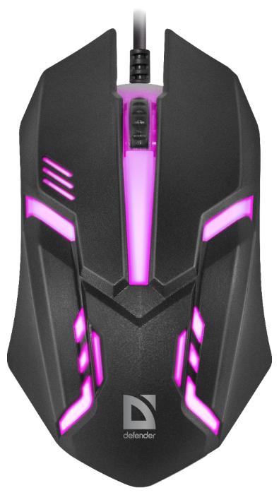"""Мышь Defender """"MB-560 L Cuber"""" (USB)"""