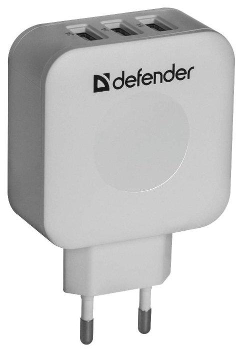 "Зарядное устройство Defender ""UPA-30"" 83535, 1xUSB 2.0A, 3xUSB 1.0A,"