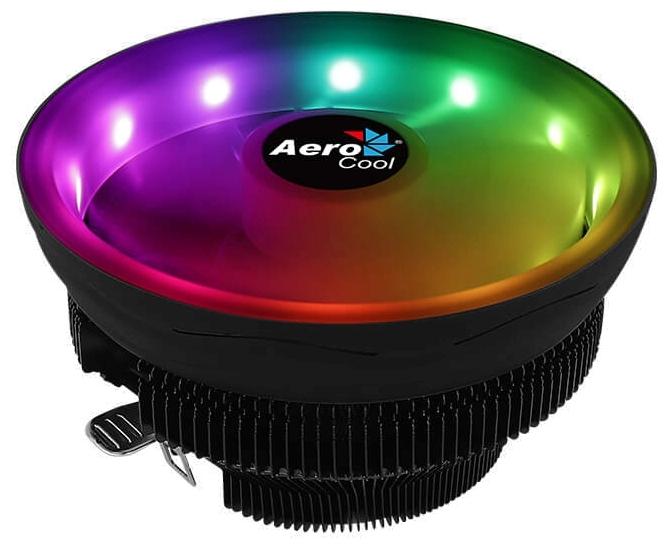 "Кулер для процессора Socket775/115x/AM2/AM2+/AM3/AM3+/AM4/FM1/FM2 AeroCool ""Core Plus"", подсветка"