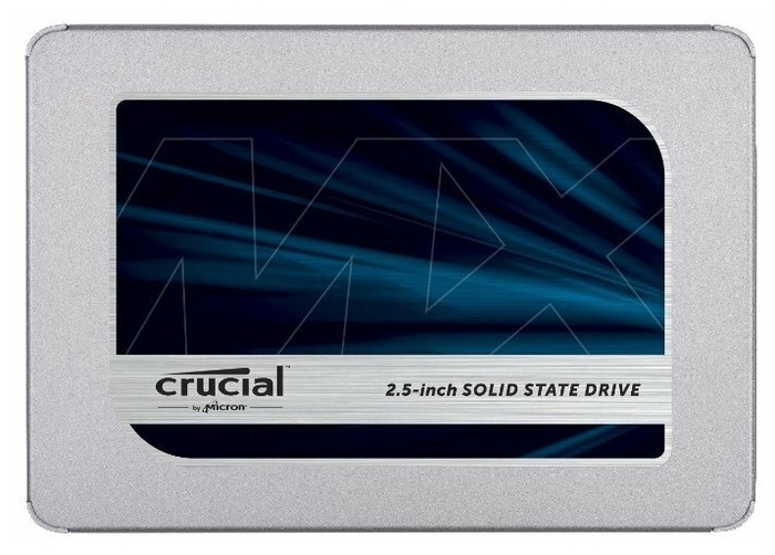 """SSD-диск SSD диск 500ГБ 2.5"""" Crucial """"MX500"""" CT500MX500SSD1 . null."""