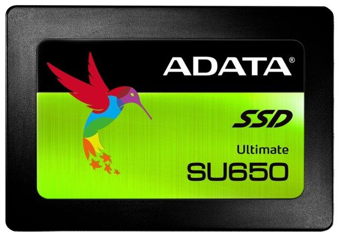 "SSD диск 240ГБ 2.5"" ADATA ""Ultimate SU650"" ASU650SS-240GT-R"