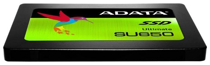 "SSD-диск SSD диск 240ГБ 2.5"" ADATA ""Ultimate SU650"" ASU650SS-240GT-R . null."