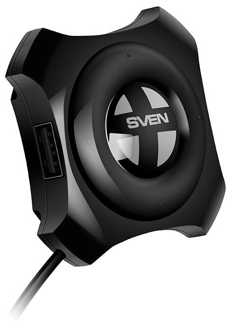 """Разветвитель 4 порта USB2.0 Sven """"HB-432"""""""