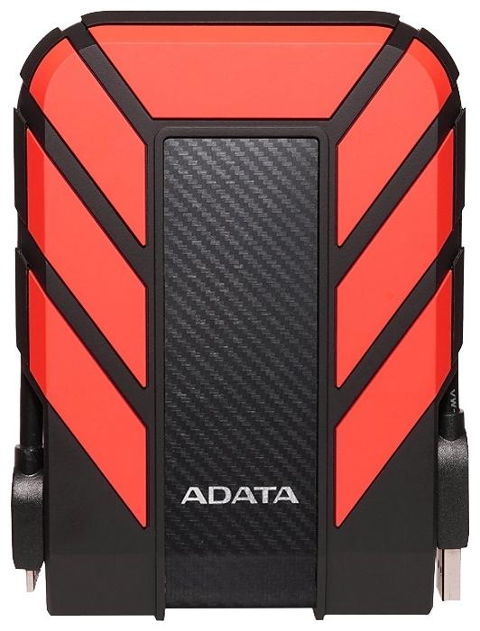 """Внешний жесткий диск 1ТБ 2.5"""" ADATA """"HD710 Pro"""" AHD710P-1TU31-CRD, красно-черный"""