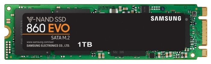 "SSD диск 1000ГБ M.2 Samsung ""860 EVO"" MZ-N6E1T0BW"