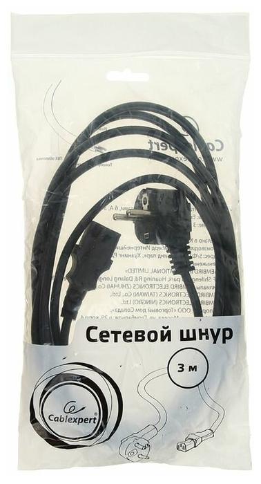 """Кабель-переходник Кабель-переходник Кабель питания Gembird """"PC-186-10"""" (3.0м). null."""