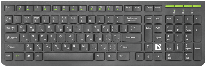 "Клавиатура Defender ""SM-536 UltraMate"""