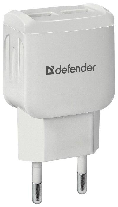 "Зарядное устройство Defender ""EPA-13"" 83841, 1xUSB 2.1A, 1xUSB 1.0A,"