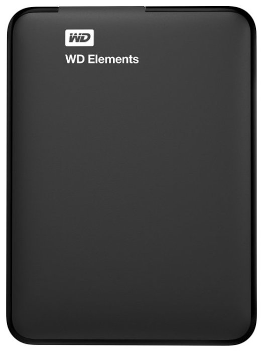 """Внешний жесткий диск 2ТБ 2.5"""" Western Digital """"Elements WDBU6Y0020BBK"""", черный"""