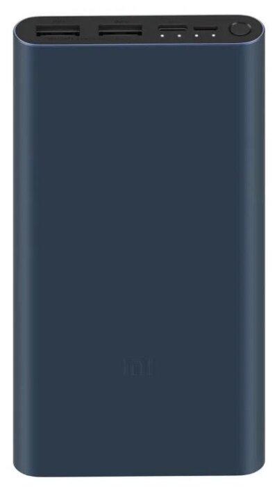 "Внешний аккумулятор Xiaomi ""Mi Power Bank 3 10000"" VXN4274GL, 10000мАч, 2xUSB 2.4A, черный"