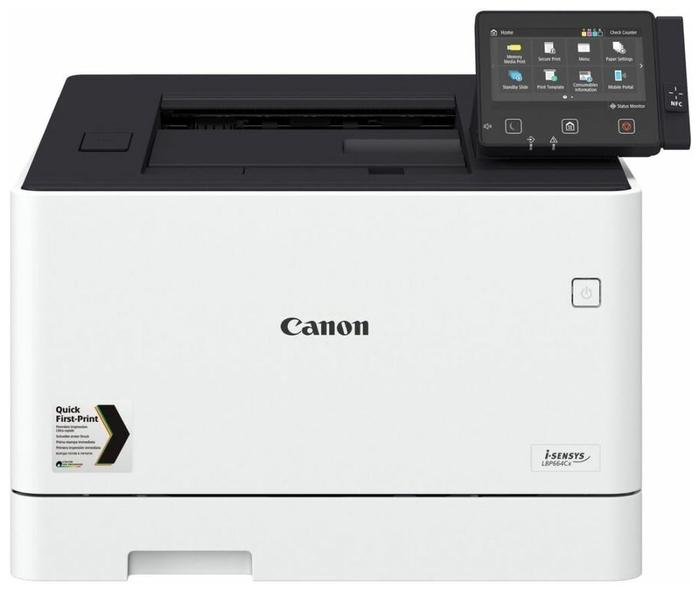 """Лазерный принтер Цветной лазерный принтер Canon """"i-SENSYS LBP664Cx"""" A4, 600x600dpi, бело-черный . null."""
