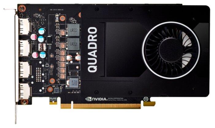 """Видеокарта PNY """"Quadro P2200"""" VCQP2200BLK-1"""