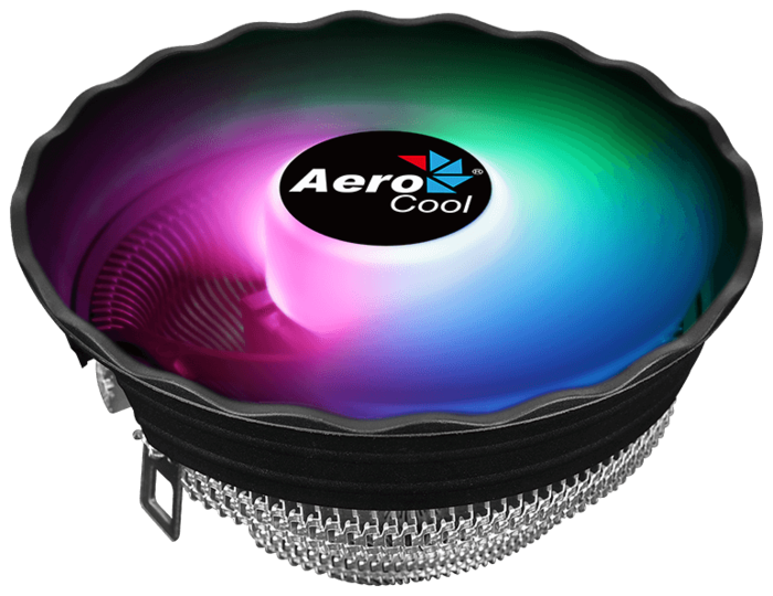 "Кулер для процессора Socket775/115x/AM2/AM3/AM4/FM1/FM2 AeroCool ""Air Frost Plus"", подсветка"