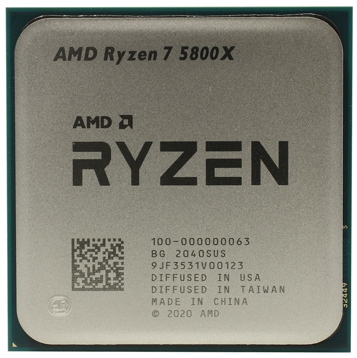 "null Процессор AMD ""Ryzen 7 5800X"" . null."