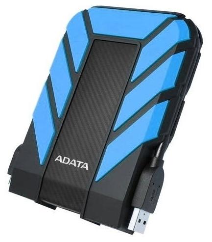 """Внешний жесткий диск 1ТБ 2.5"""" ADATA """"HD710 Pro"""" AHD710P-1TU31-CBL, сине-черный"""
