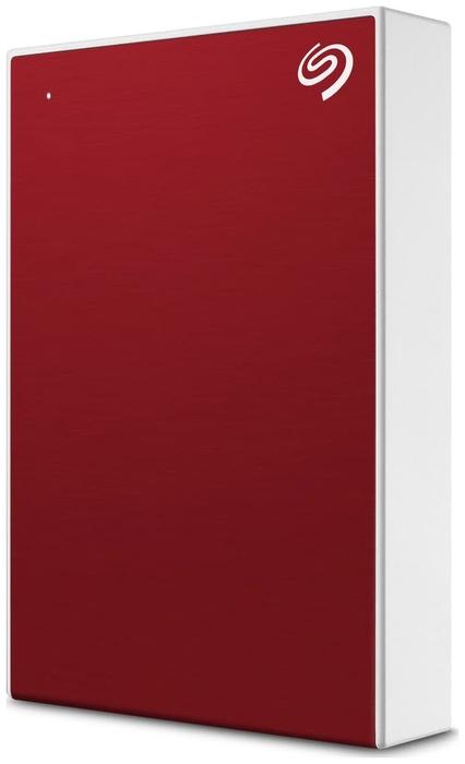"Внешний жесткий диск 5ТБ 2.5"" Seagate ""One Touch"" STKC5000403, красно-белый"