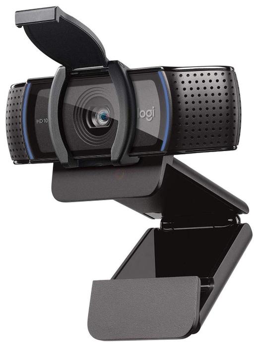 """Веб-камера Logitech """"c920S HD Pro Webcam"""" 960-001252, с микрофоном"""