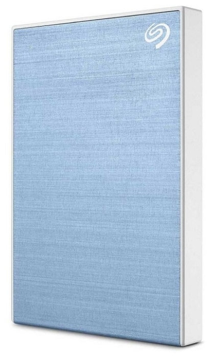 "Внешний жесткий диск 1ТБ 2.5"" Seagate ""One Touch"" STKB1000402, сине-белый"