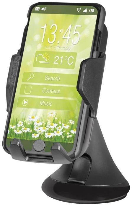 """Держатель автомобильный с беспроводной зарядкой Defender """"WCH-01"""" 83801, для мобильных устройств"""