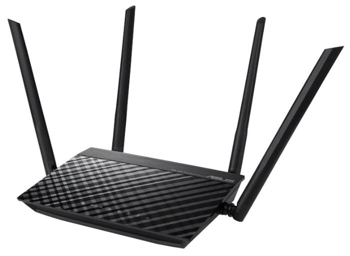 "Беспроводной маршрутизатор ASUS ""RT-AC1200RU"" WiFi 867Мбит/сек. + 4 порта LAN 100Мбит/сек. + 1 порт"