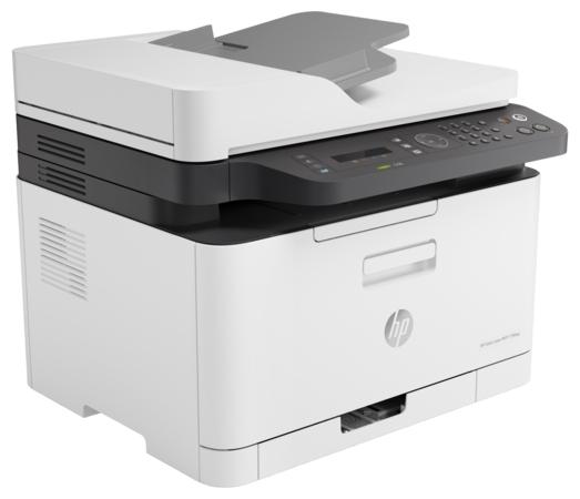 """Многофункциональное устройство HP """"LaserJet 179fnw"""" A4, лазерный, цветной, принтер + сканер + копир+факс, бело-черный"""