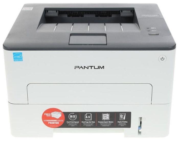 """Лазерный принтер Pantum """"P3010D"""" A4, 1200x1200dpi, серый"""
