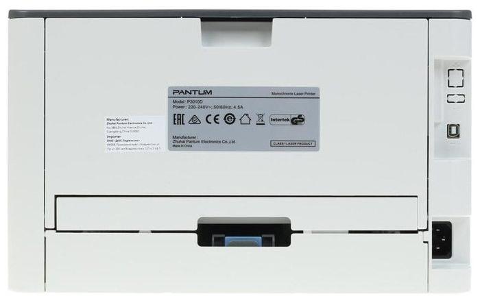 """null Лазерный принтер Pantum """"P3010D"""" A4, 1200x1200dpi, серый . null."""