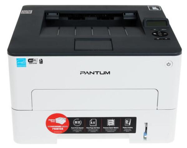 """Лазерный принтер Pantum """"P3010DW"""" A4, 1200x1200dpi, серый"""