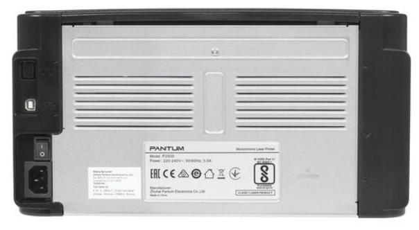 """null Лазерный принтер Pantum """"P2500"""" A4, 1200x1200dpi, черный . null."""