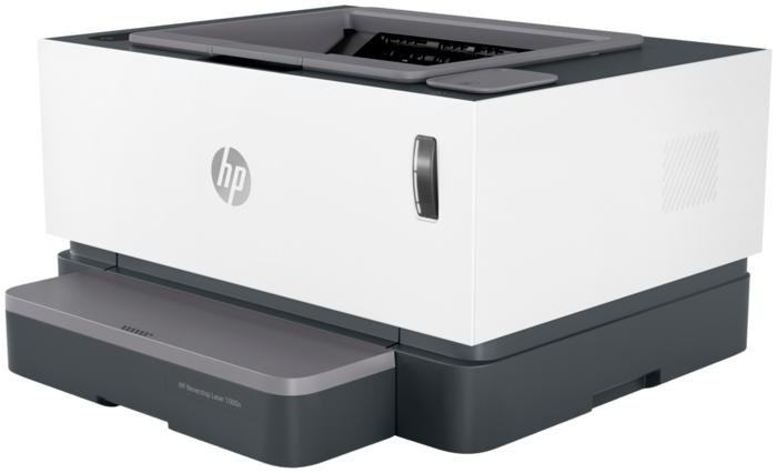 """Лазерный принтер HP """"Neverstop Laser 1000n"""" A4, 600x600dpi, бело-черный"""
