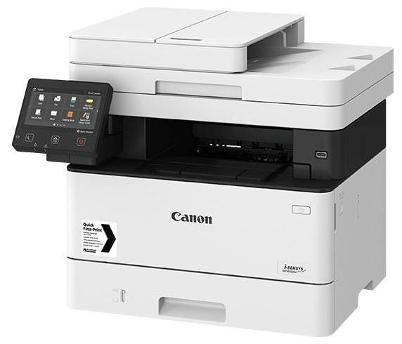 """Многофункциональное устройство Canon """"i-SENSYS MF445dw"""" A4, лазерный, принтер + сканер + копир + факс, ЖК 5.0"""", бело-черный"""