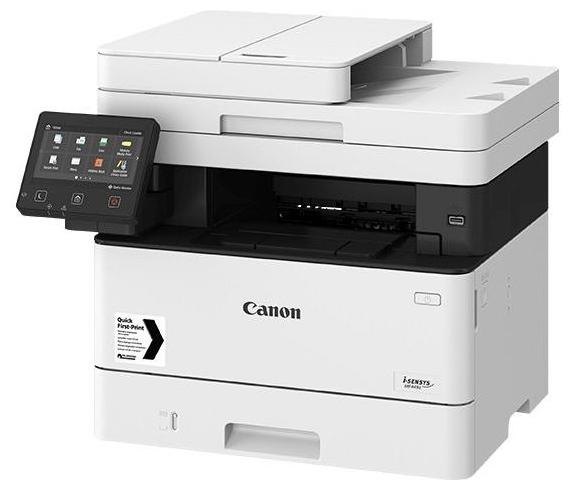 """Многофункциональное устройство Canon """"i-SENSYS MF449x"""" A4, лазерный, принтер + сканер + копир + факс, ЖК 5.0"""", бело-черный"""