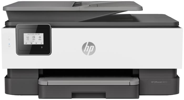 """Многофункциональное устройство HP """"OfficeJet 8013"""" A4, струйный, принтер + сканер + копир, ЖК 2.2"""", черный"""