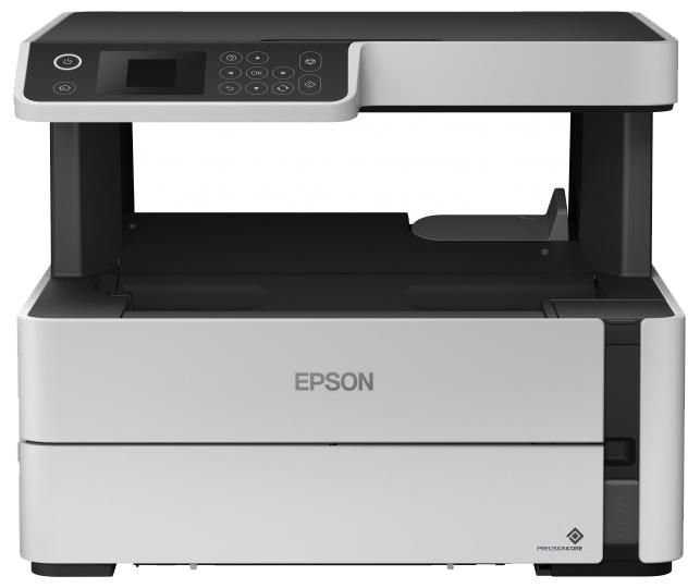 """Многофункциональное устройство Epson """"M2140"""" A4, струйный, принтер + сканер + копир, ЖК 1.5"""", бело-черный"""