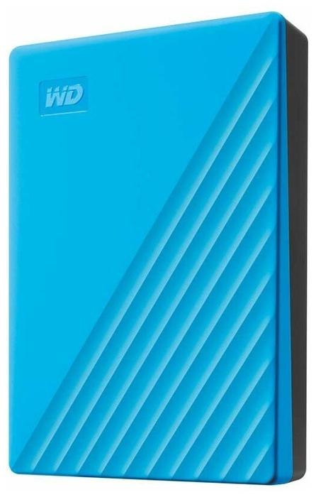 """Внешний жесткий диск 4ТБ 2.5"""" Western Digital """"My Passport WDBPKJ0040BBL"""", синий"""