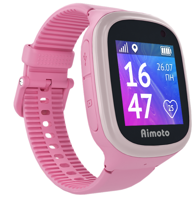 "null Умные часы KNOPKA ""AIMOTO START 2 PINK"" 9900201, розовый . null."