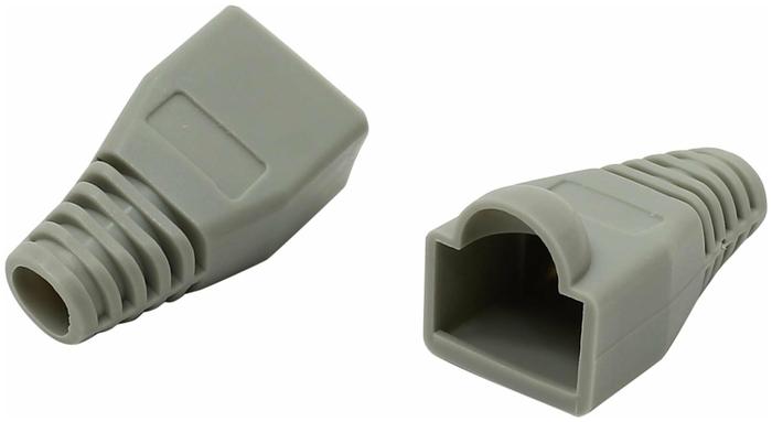 """Колпачок резиновый для вилки RJ-45 Atcom """"AT10107"""", серый"""